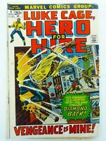 Marvel LUKE CAGE HERO FOR HIRE (1972) #2 Key 1st CLAIRE TEMPLE GD Ships FREE!