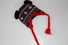 Disney Hat Girls Nwt New Mickey Minnie Mouse Knit Ears Pigtails