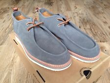 NEW Dr Martens Hambleton II 14489010 Charcoal Gray Suede Shoes Mens US 13