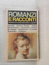 ROMANZI E RACCONTI Quindicinale di narrativa Sadea editore 1966 romanzo racconto