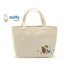 Miffy Playing Ball Print Shopping Tote Canvas Lunch Bag
