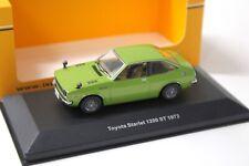 1:43 IXO Toyota Starlet 1200 ST 1973 green NEW bei PREMIUM-MODELCARS