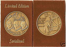 Apollo XI First Man - Moon 40th Anniverssary Medal 11 S