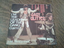 45 tours gary glitter i'm the leader of the gang