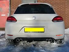 VW Scirocco Exhaust System Stainless Steel Rear Sections Fitted 0113 2798966