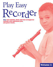 Play Easy Recorder Volume 2 Learn to Play Beginner Lesson Tutoral  Music Book