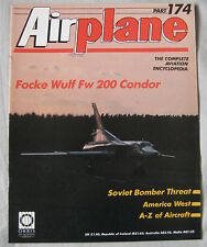 Airplane magazine Issue 174 Focke Wulf Fw 200 Condor Cutaway drawing & poster