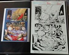 SIGIL # 19 PG 14 ORIGINAL ART W/COLOR LASER PROOF-SCOT EATON & HENNESSY-CROSSGEN