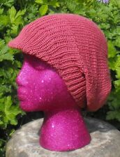 PRINTED INSTRUCTIONS-SMART PEAK SLOUCH SLOUCHY BEANIE HAT KNITTING PATTERN