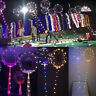 20inch Luminous Led Balloon Transparent Round Bubble Xmas Party Decor & LED Rope