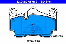 Bremsbelagsatz, Scheibenbremse für Bremsanlage Hinterachse ATE 13.0460-4976.2