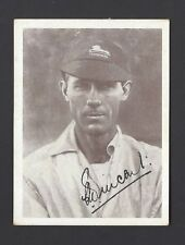 UNITED TOBACCO - SOUTH AFRICAN CRICKET TEAM (AUTO) - C L VINCENT, TRANSVAAL