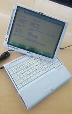 FUJITSU LIFEBOOK T4220 Core 2 Duo 1.80GHZ  2GB RAM BIOS TESTED PART AND REPAIR