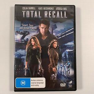 Total Recall (DVD 2012) Colin Farrell Jessica Biel Bill Nighy Region 2,4,5