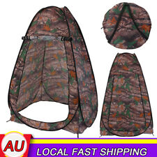 Folding Portable Outdoor Camp Toilet Pop up Shower Tent Privacy Shelter-au Ship