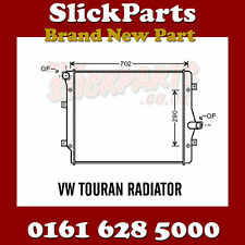 VW VOLKSWAGEN TOURAN RADIATOR 1.6 TDi 2.0 TDi 2003 > 2014 *NEW*