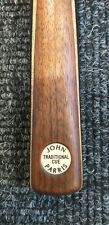 JOHN PARRIS (1st - EDITION) TRADITIONAL  CUE - 2 PIECE (RED GLUE) USED - £900