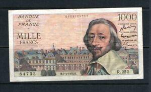 Billet 1000 Francs Richelieu 05/04/56 TTB Fay 42-20