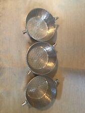 Hammered Aluminum Bowls (carousel Not Included)