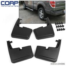 For FORD F-150 15-18 Mud Flaps w/o Fender Flares Mud Guards Splash Guard Molded