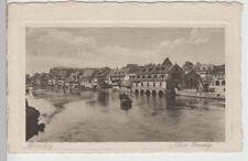 (71846) AK Bamberg, Klein Venedig, Karte auf Büttenkarton vor 1945