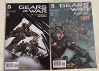 Lot x 2 GEARS OF WAR Comics 23 24 1ST PRINT DC Entertainment HIGH GRADE UNREAD