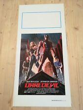DAREDEVIL Locandina Film 33x70 Poster Originale Cinema MARVEL DC JOHNSON