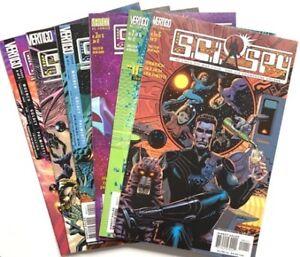 DC 2002 SCI SPY #1-6 Complete Series Set Lot Run Vertigo Comics Bundle S.C.I.