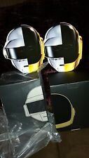 BAIT X KIDOKYO ROBOTS DAFT PUNK FIGURE SDCC SET OF 2 SILVER/GOLD + 2 RAM MASKS