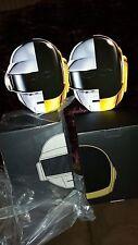 BAIT X KIDOKYO ROBOTS DAFT PUNK FIGURE SDCC SET OF 2 SILVER/GOLD + 2 RAM MASKS
