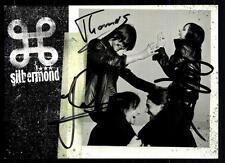 Silbermond Autogrammkarten Original Signiert ## BC 38595