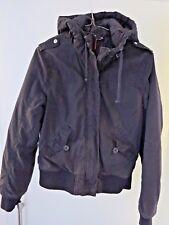 blouson/doudoune capuche H&M chaud noir  38 M