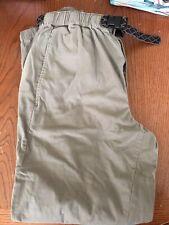 columbia trail pants lined  mens Large Khaki/green