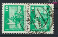 DDR 1868sP senkrechtes Paar Bedarfsstempel gestempelt 1974 Bauwerke (9187939