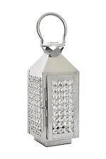 Crystal Votive & Pillar Candle Holder Lanterns Hanging Wedding Centerpieces