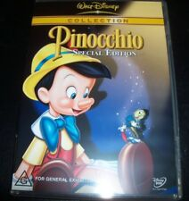 Pinocchio Walt Disney Special Edition (Australian Region 4) DVD - Like New