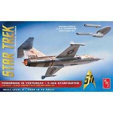 AMT Star Trek Tomorrow is Yesterday USAF F-104 Starfighter Model Kit 1/48