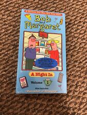 New Sealed Bob And Margaret A Night In Volume 1 Animated VHS Screener Promo