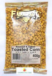 ROASTED & SALTED TOASTED CORN - ROASTED CORN NUTS - ORIGINAL - FUDCO - 400g