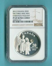 CANADA 2012 THREE WISE MEN PAGENT NGC PF-69 $20 ALL PACKAGING INCLUDED