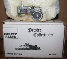 * Allis Chalmers D-15 Pewter Tractor 1/43 Spec Cast Toy DAC016 LIMITED ED 1/7500