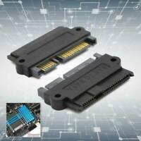 SFF-8482 SAS To SATA 22 Pin Angle 180 DegreeHard Disk Card P1W2 Adapter U5U1