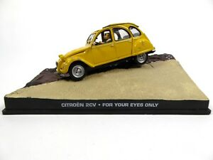 Citroën 2CV James Bond 007 Rien que pour vos yeux - 1:43 Voiture Car DY005