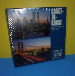 New Springbok Grand Master Series 2 Puzzle 700 Pcs Coast to Coast Twin Towers