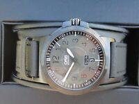 ORIS  Advanced Aviation Men's Watch automatic / black case / grey dial