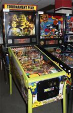 SHREK Pinball Machine - Stern 2008 - Pinball Fun for the Whole Family!!