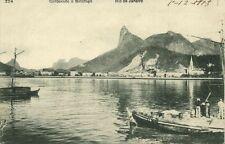 brazil, RIO DE JANEIRO, Corcovado e Botafogo (1913)