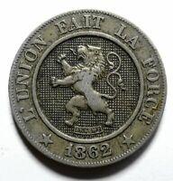 1862 Belgium Ten 10 Centimes - Leopold I - Lot 902