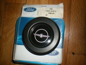 NOS 1983 Ford Thunderbird Steering Wheel Emblem E3SZ-3649-D