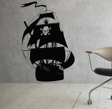 Marine Ship Wall Decal Vinyl Sticker Nautical Pirates Interior Art Decor (1shp)